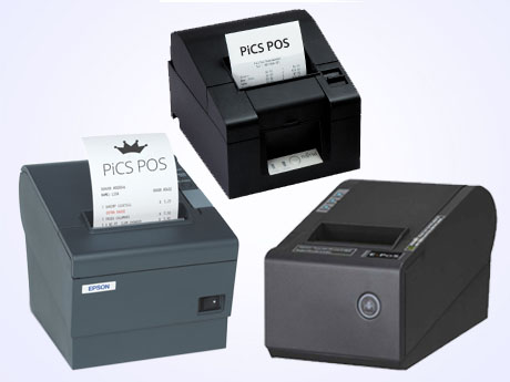 Thermal receipt printer for pos